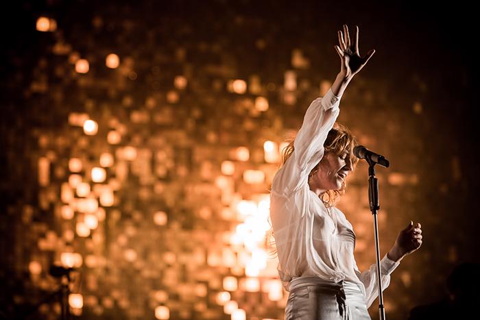 Florence + The Machine se apresenta (foto: divulgação)
