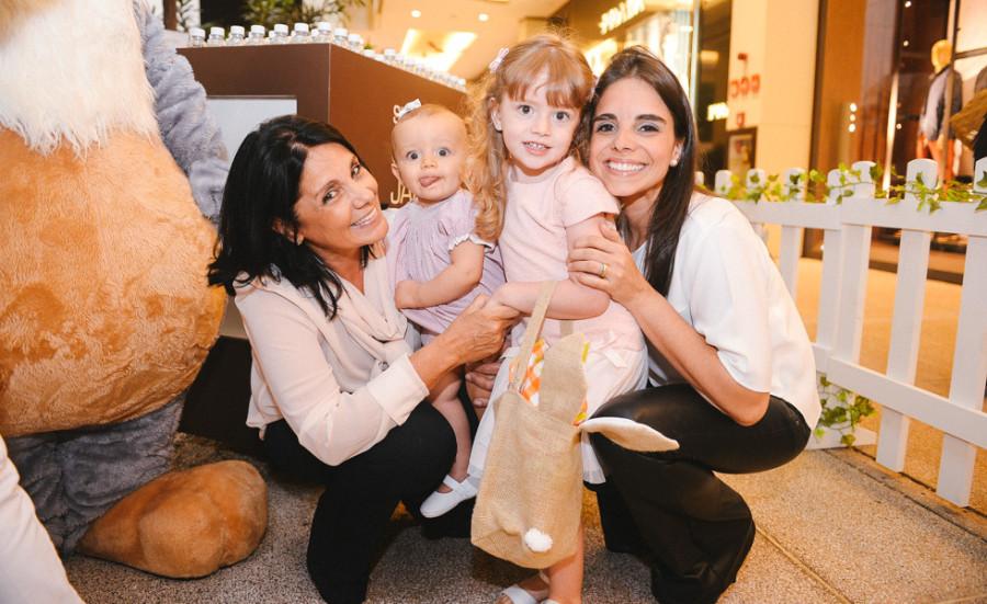 Lais Aversa, Anna Aversa Malamud, Luiza Aversa Malamud e Ana Cristina Malamud (foto: divulgação)