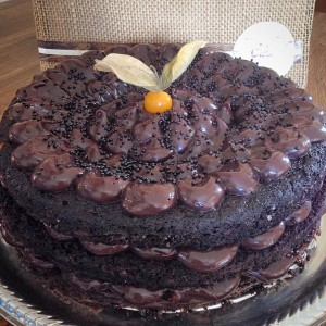 naked cake brigadeiro meio amargo (Foto: Divulgação)