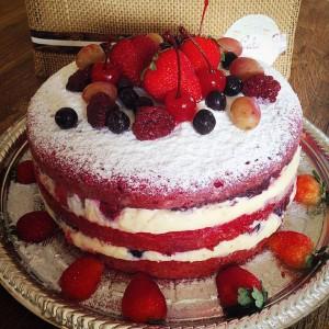 naked cake red velvet (Foto: Divulgação)