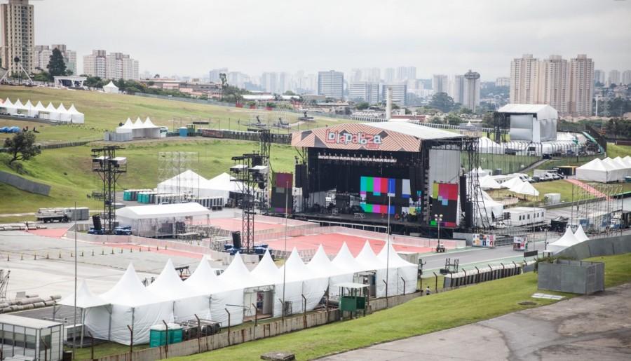 visão do palco skol (foto: divulgação)
