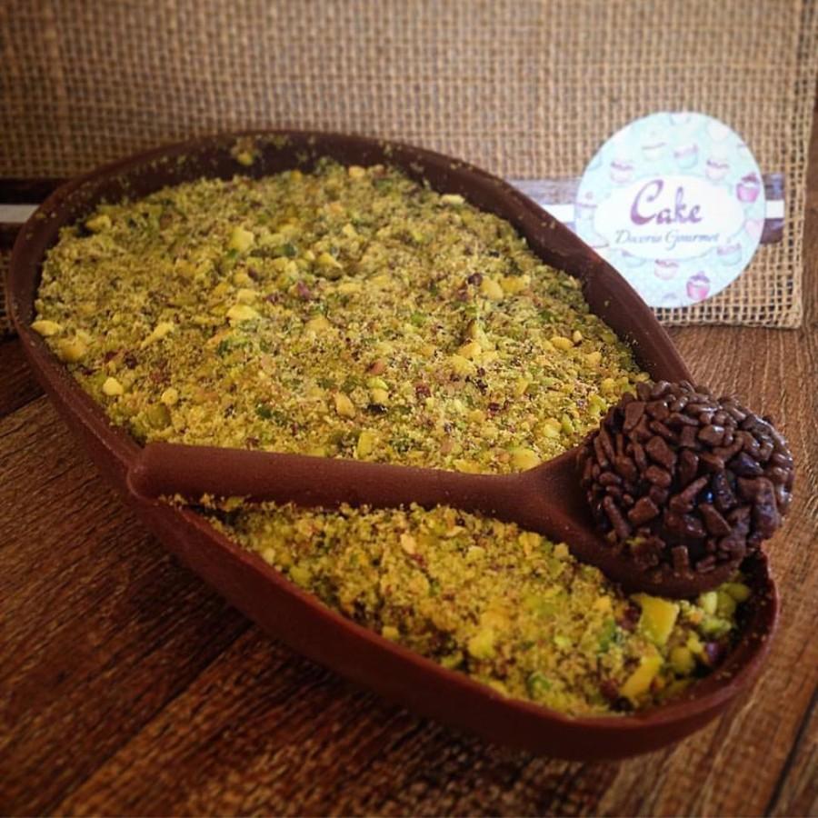 brigadeiro com pistache (foto: Divulgação/cake doces gourmet)