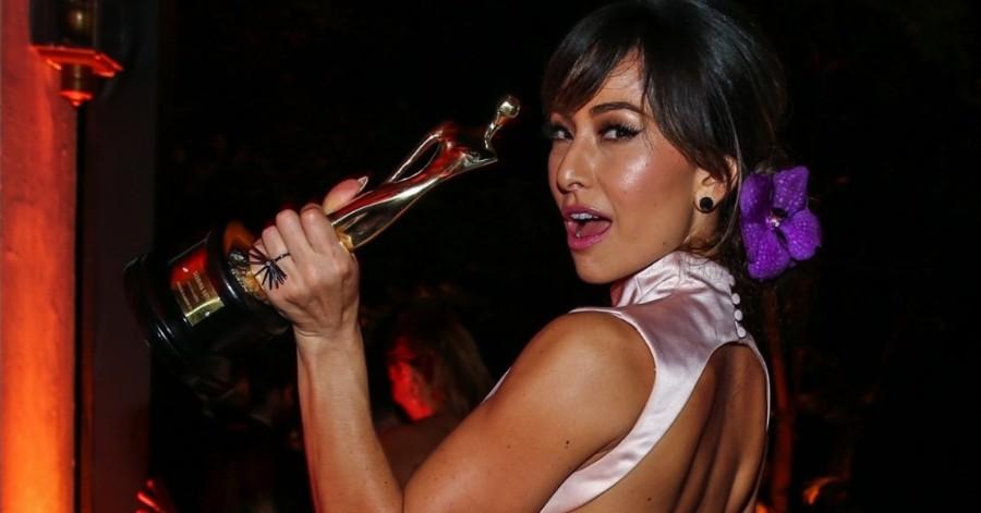 Sabrina Sato no prêmio geração Glamour 2015 (foto: divulgação)