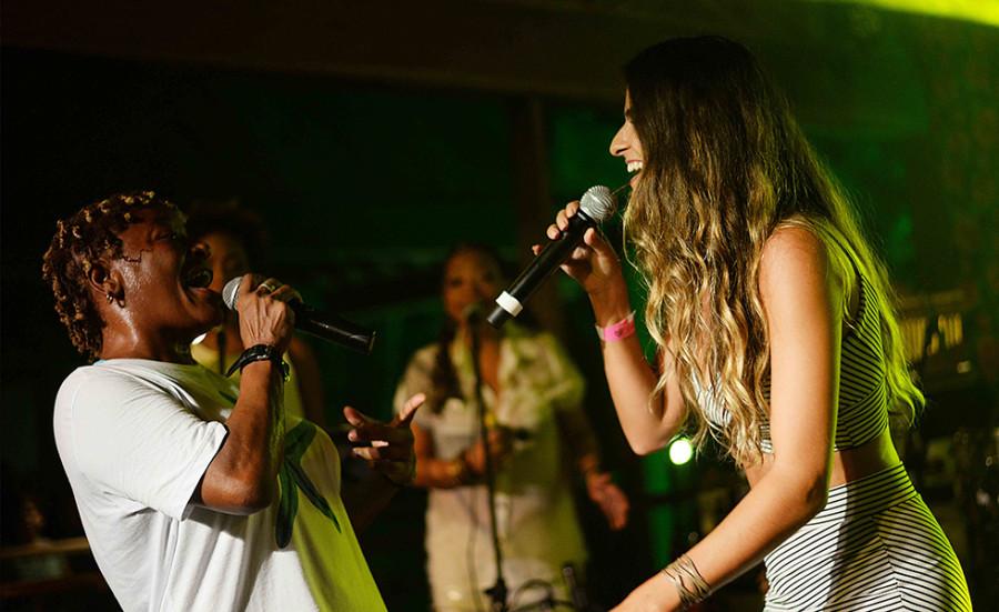Show de Mart'nália e Marcella Fogaça (Foto: divulgação)