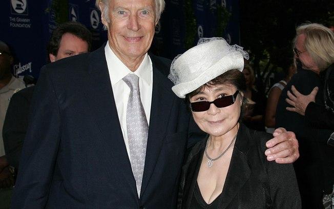 George Martin e Yoko Ono (foto: divulgação)