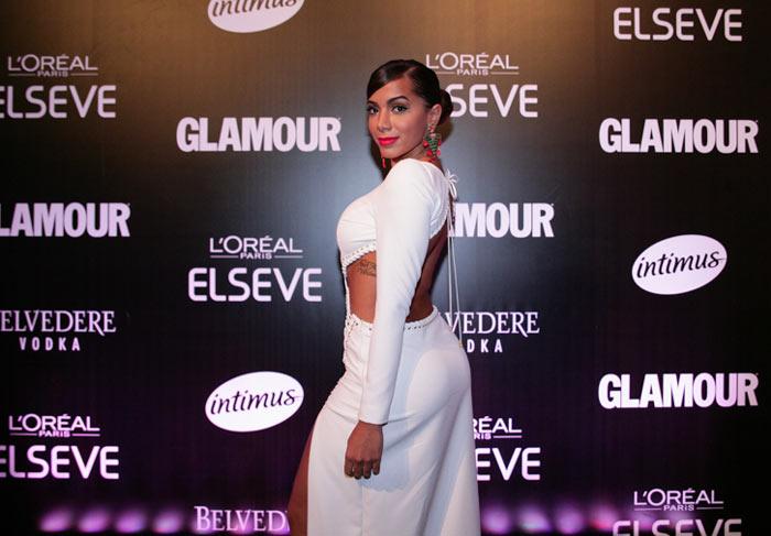 anitta no prêmio geração glamour (foto: divulgação)