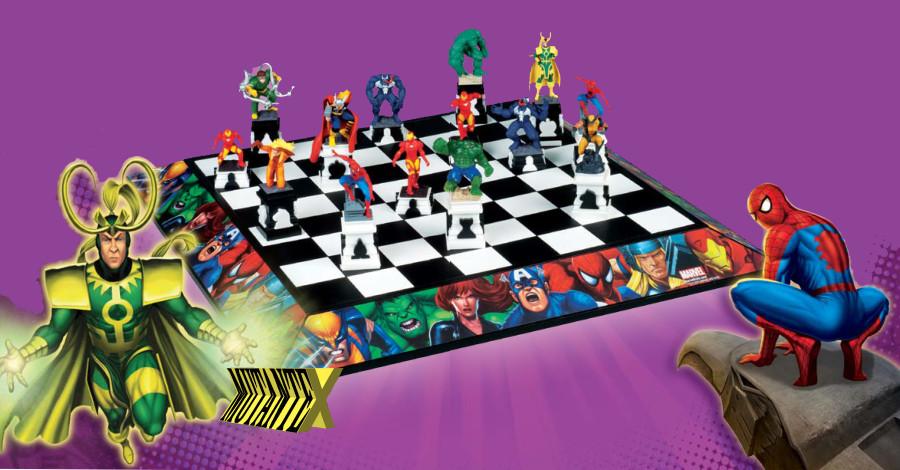 Tabuleiro de xadrez Marvel (Foto: Divulgação)