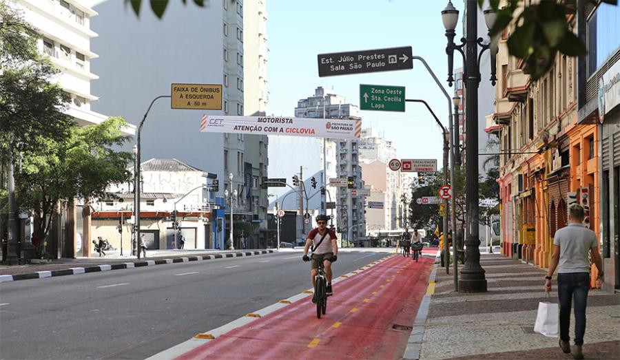 Ciclovia de São Paulo (foto: divulgação)