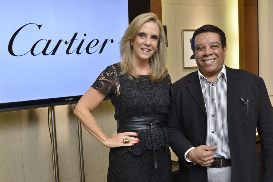 Daniela Morganti e Mario Mendes (Foto: João Sal)