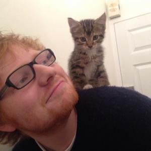 Ed Sheeran e Boris (Foto: Divulgação)