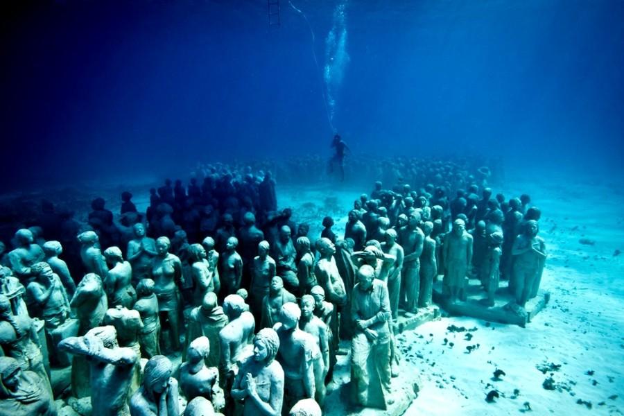 Mais de 500 estátuas estão no Museu de Cancún (Foto: Divulgação)