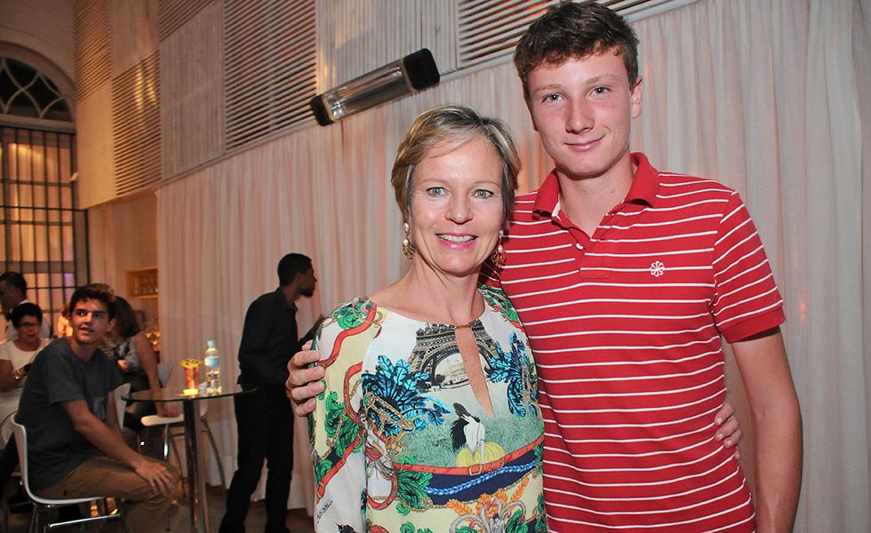 Ulrike e Gabriel Decamps (Foto: Divulgação)