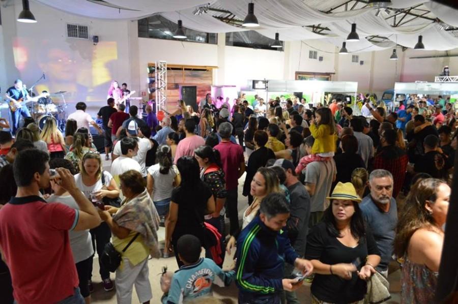 Panorâmica do Expresso Bier Fest 2015 (Foto: Divulgação)