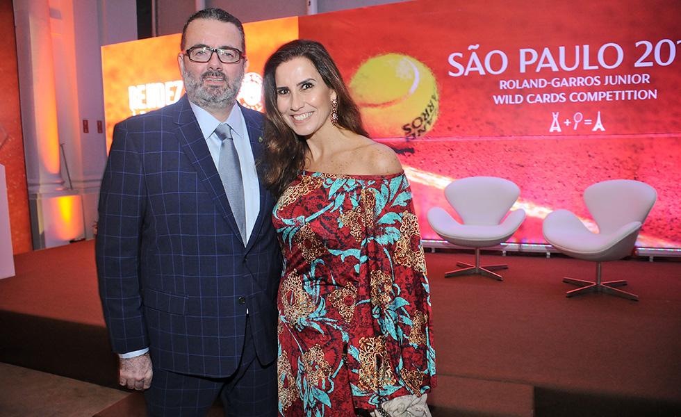 Jorge Lacerda e Márcia Dutra (Foto: Divulgação)