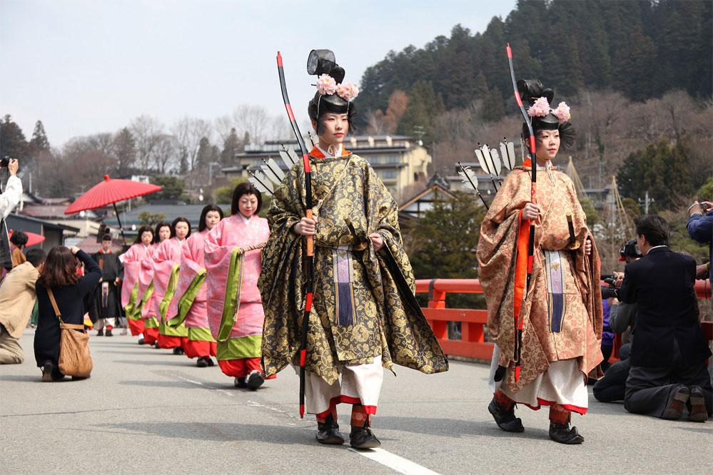 Festival é celebrado no Japão na mesma época (Foto: Divulgação)