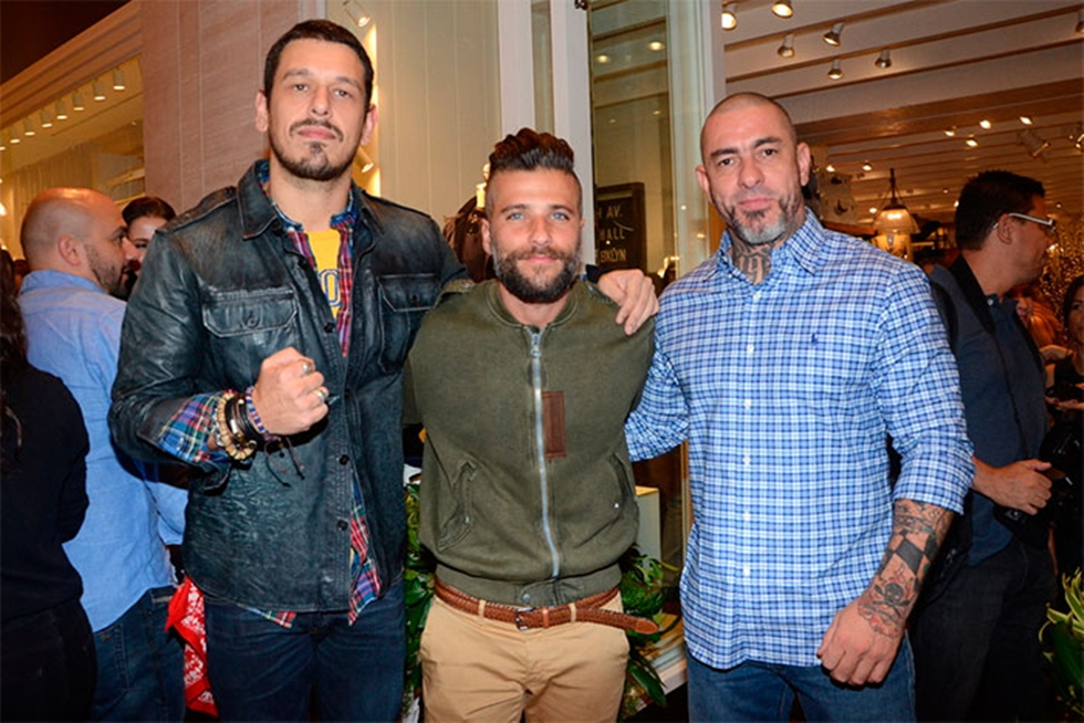 João Vicente de Castro, Bruno Gagliasso e Henrique Fogaça (Foto: Divulgação)