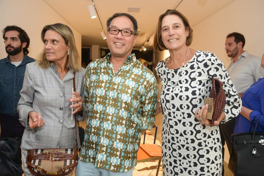 Bia Lambert, Sit Sei Wei e Patrícia Almeida (Foto: Divulgação)