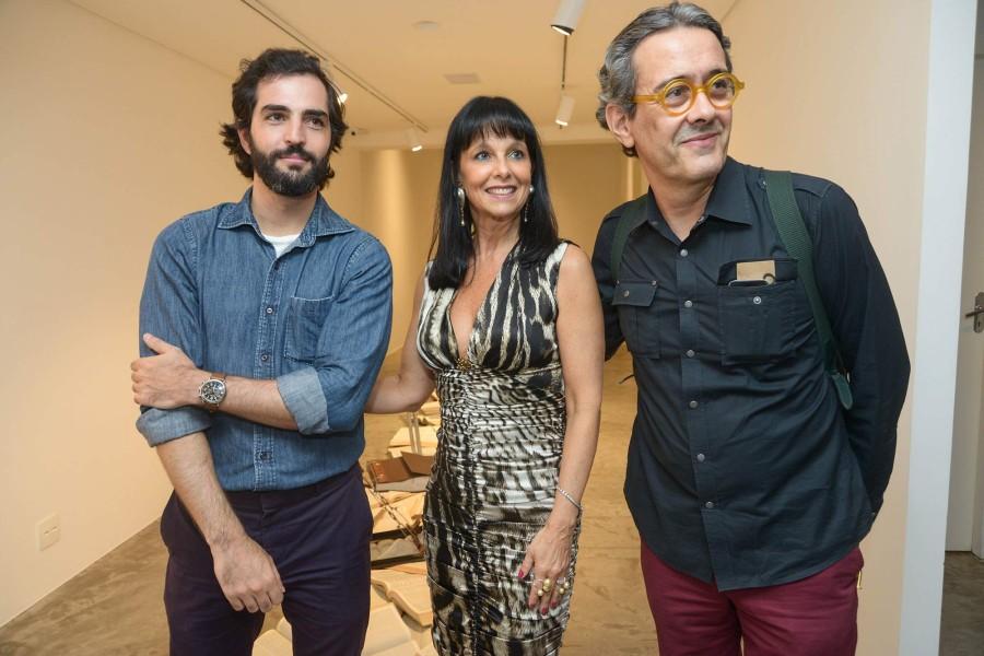 Bruno Simões, Carla Pilão e Waldick Jatobá (Foto: Divulgação)