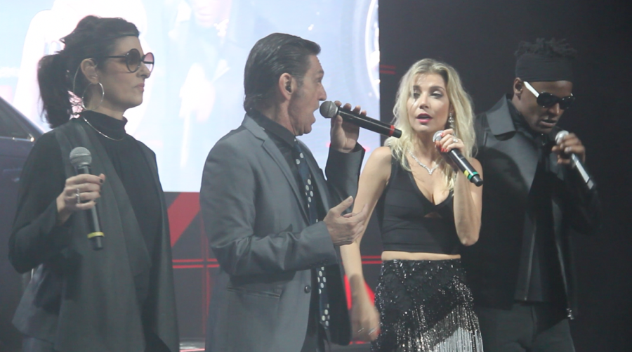 Fernanda Abreu, Paulo Miklos, Luiza Possi e Toni Garrido (Foto: Nair Barros/ Clacrideias)