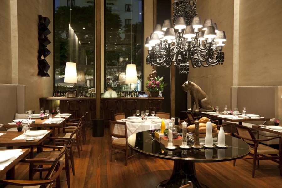 Geral do restaurante D.O.M de Alex Atala que levou duas estrelas do Guia Michelin (Foto: Divulgação)