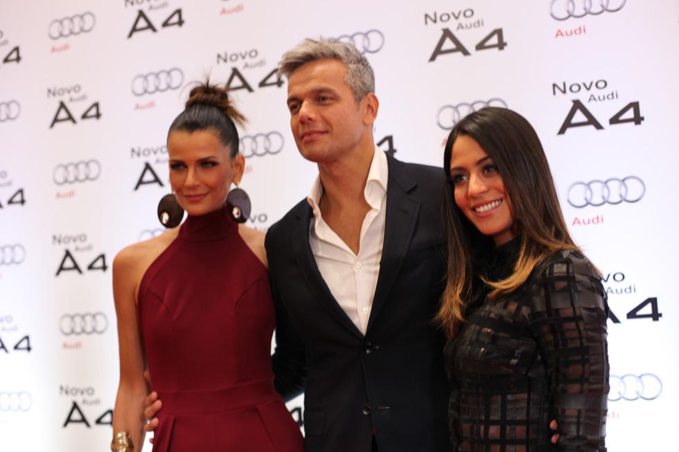 Fernanda Motta, Otaviano Costa e Carol Castro (Foto: Nair Barros/ Clacrideias)
