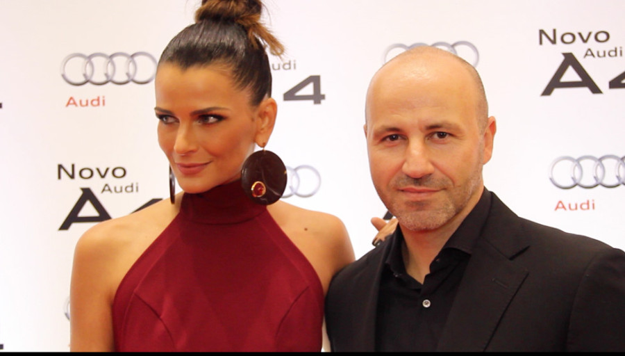 Fernanda Motta e diretor de Marketing, Herlander Zola (Foto: Nair Barros/ Clacrideias)