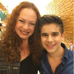 Lara Cordula e Thiago Rosseti (Foto: Reprodução/ Instagram)
