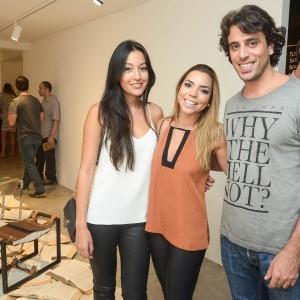 Mariana Moriya, Marcella Pinheiro e Thiago Sallum (Foto: Divulgação)