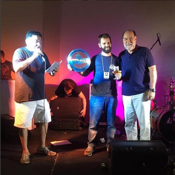 Vencedor da Expresso Bier Fest 2015 foi a Bragantina com a cerveja ESB Speedway cacau e café (Foto: Divulgação)
