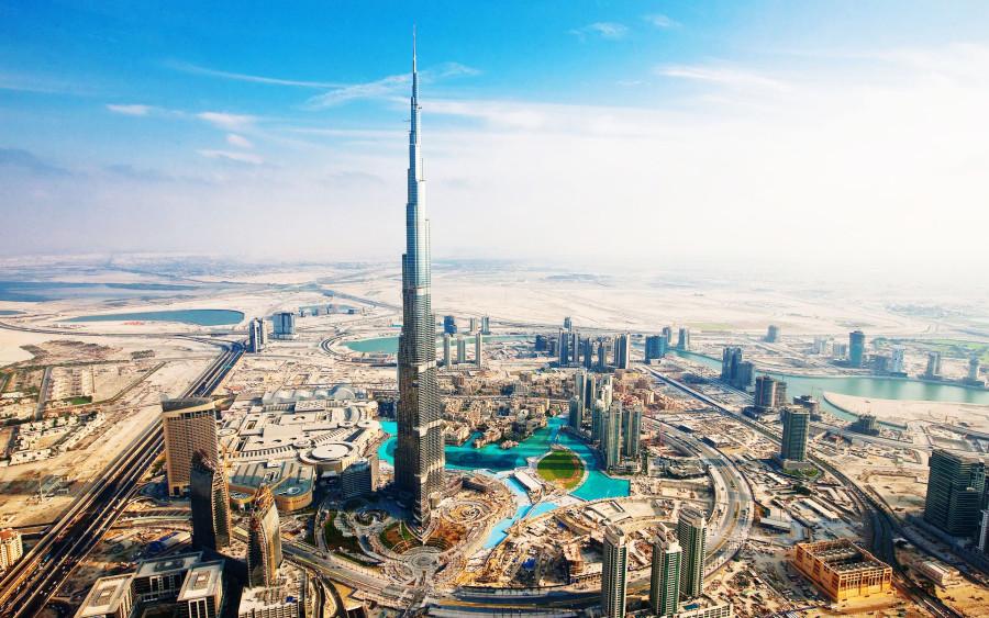 vista panorâmica de Dubai (Foto: Divulgação)