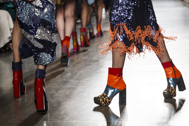 Sapato estilo David Bowie é tendência (Foto: Divulgação)