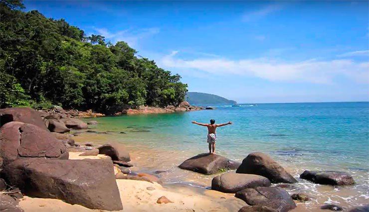Praia do Cedro (Foto: Divulgação)