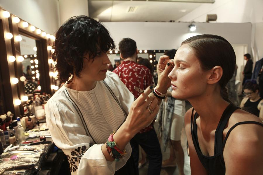Vanessa Rozan assina beleza de Uma Raquel Davidowicz (Foto: Divulgação)