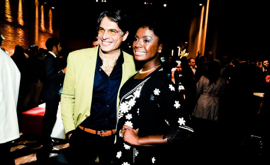 Olivier Anquier e Adriana Alves (Foto: Divulgação)