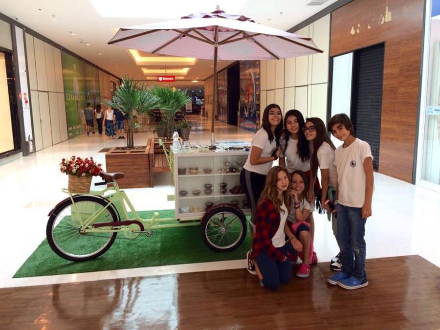 Food Bike da Ckae Doceria Gourmet (Foto: Divulgação)