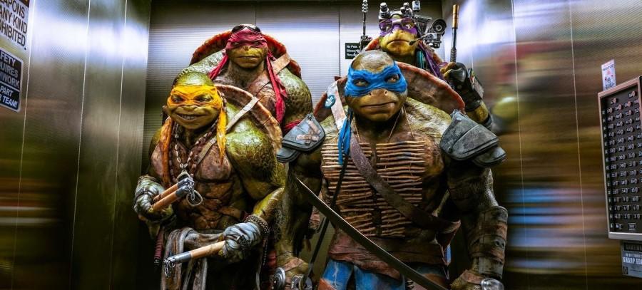 Os tartaruga ninja Michelangelo, Donatello, Raphael e Leonardo (Foto: Divulgação)
