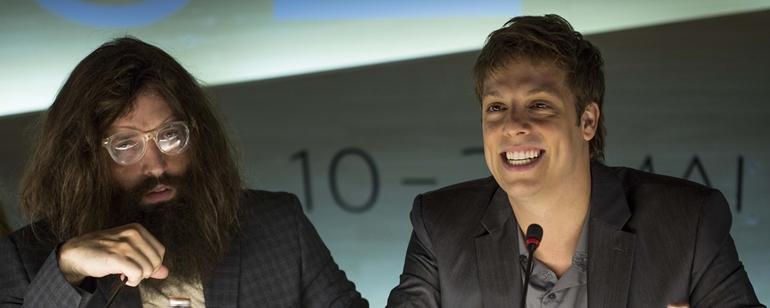 Gregório Duvivier e Fábio Porchat são amigos no longa (Foto: Divulgação)