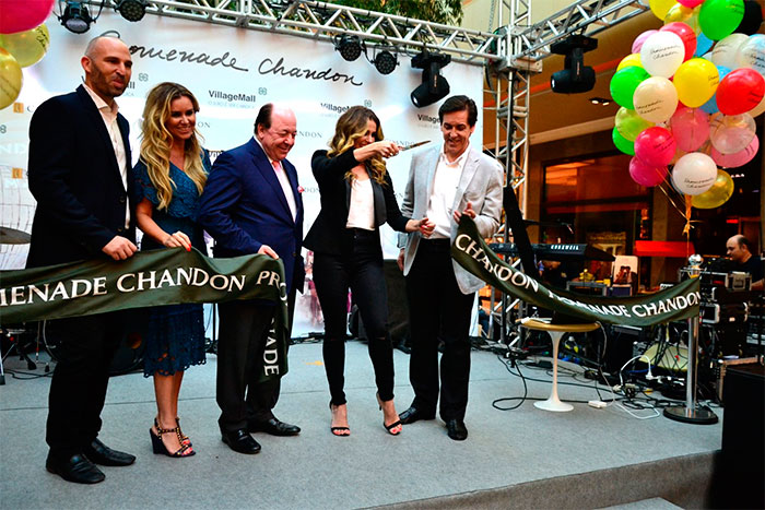 Gabriel Palumbo, Gabriela Moreno, Davide Marcovitch, Geovanna Antonelli e Sergio Degese (Foto: Divulgação)