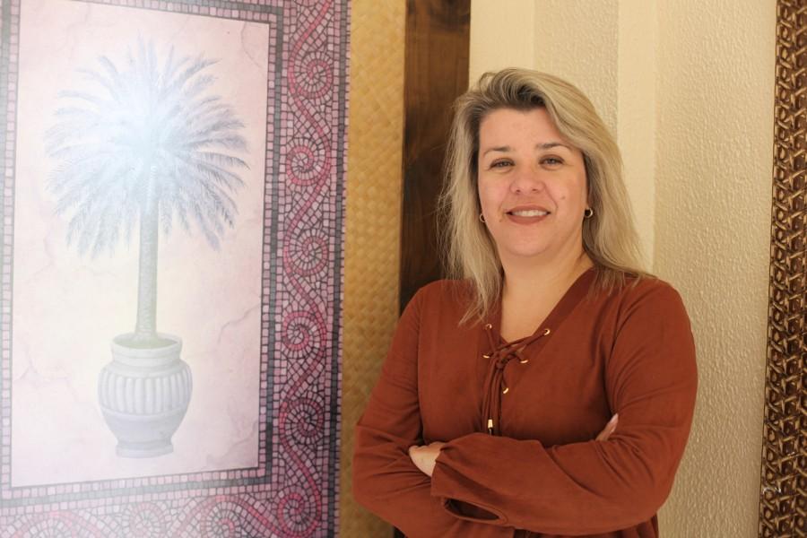 A gerente de vendas Viviane Dias revela investimento de R$ 20 milhões em projetos (Foto: Nair Barros)