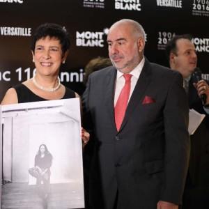 Alain dos Santos com a executiva Beatriz Galonni (Foto: Nair Barros)