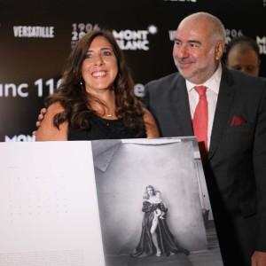 Yara Apparicio com Alain dos Santos (Foto: Nair Barros)