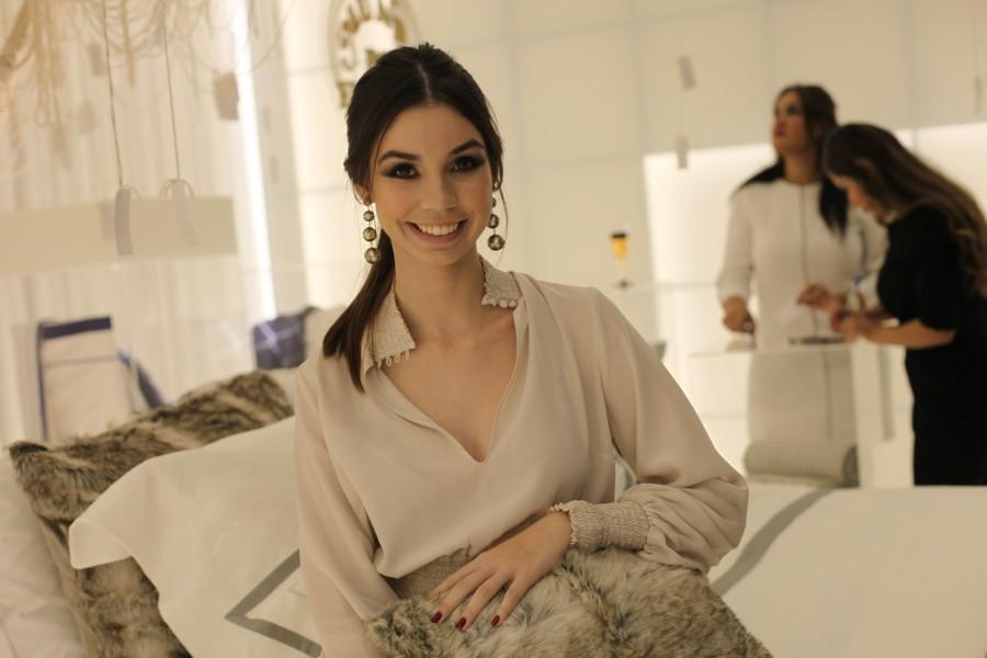 Mariana Crego no Mundo do Enxoval (Foto: Nair Barros)