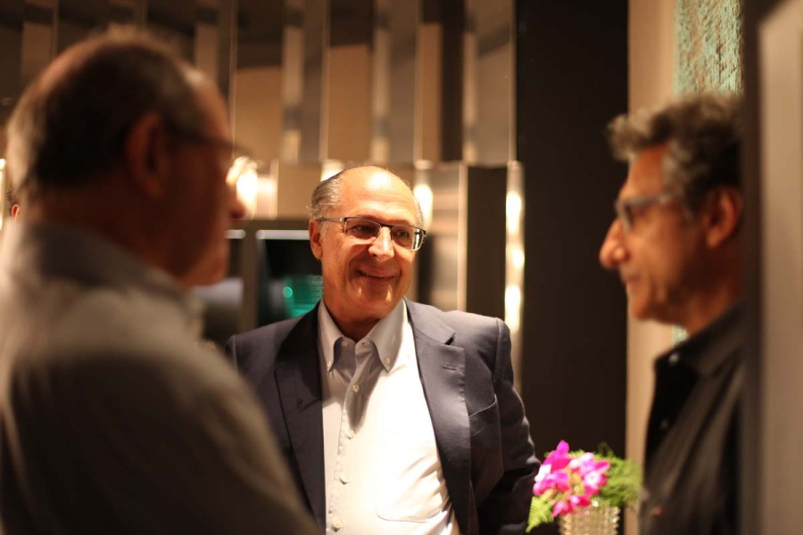 Em sua visita, Alckmin elogiou o evento, que completa 30 anos (Foto: Nair Barros)