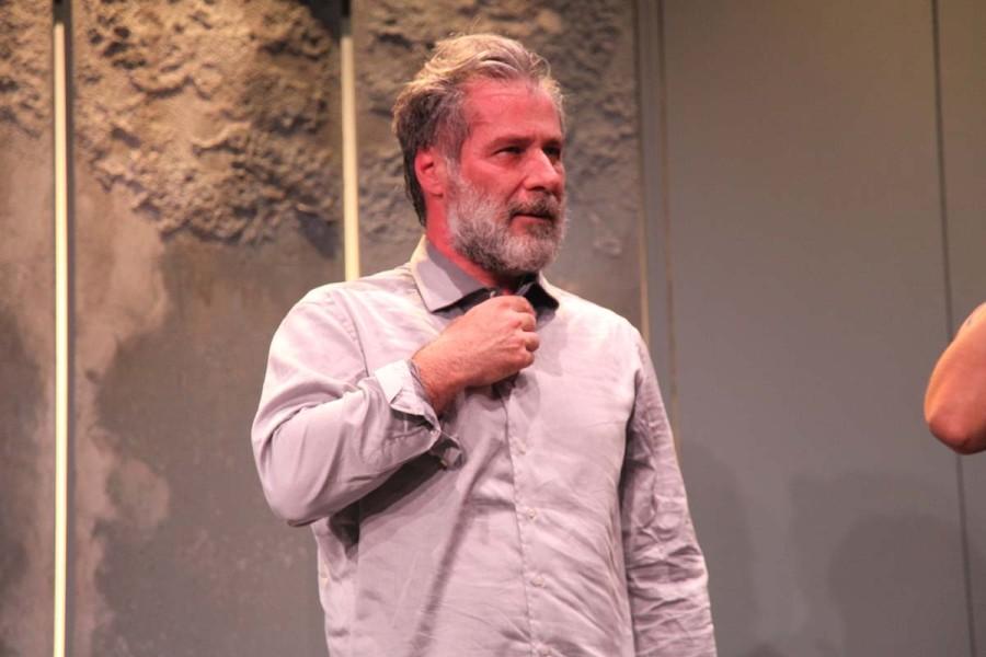 O ator Leopoldo Pacheco classificou a atitude de Temer como descaso (Foto: Nair Barros)