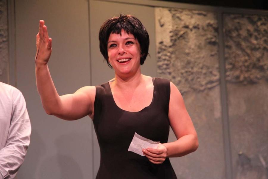 A atriz Regiane Alves se disse receosa com a retirada do MinC (Foto: Nair Barros)