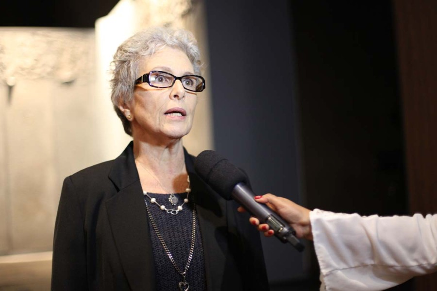 Irene Ravache elogia espetáculo da autora Maria Adelaide Amaral (Foto: Nair Barros)