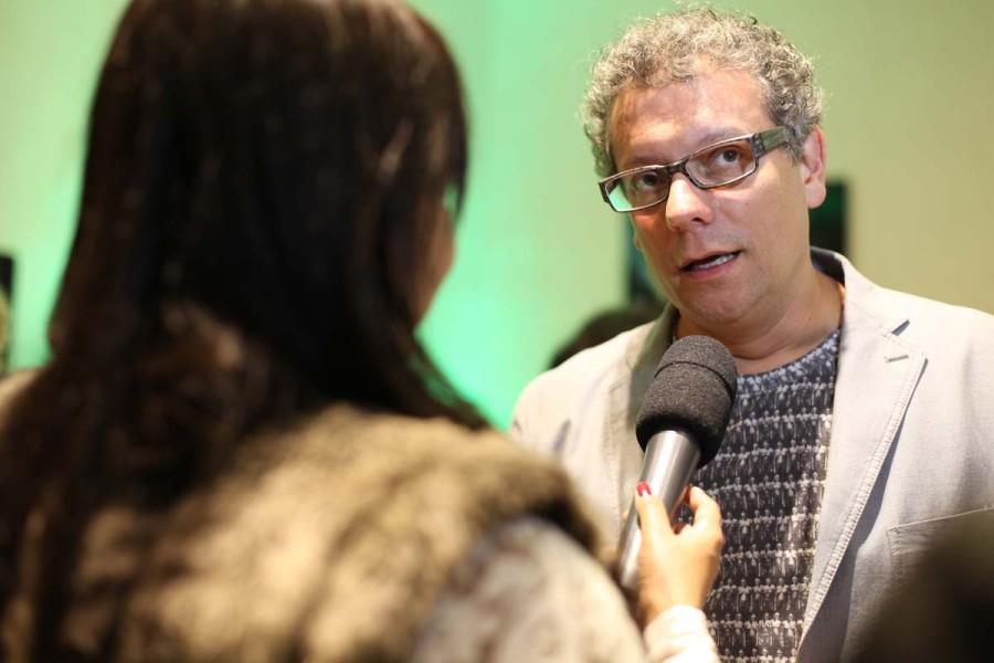"""Marcello Airoldi na pré-estreia de """"Para Tão Longo Amor"""" (Foto: Nair Barros)"""