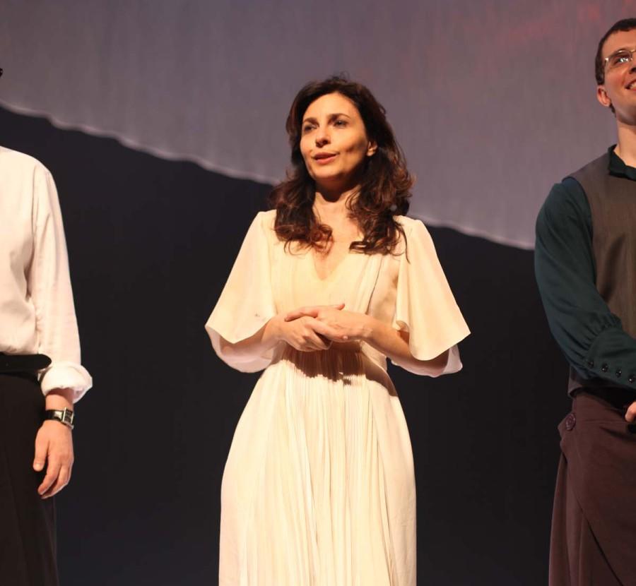 Melissa Vettore como Isadora Duncan (Foto: Nair Barros)