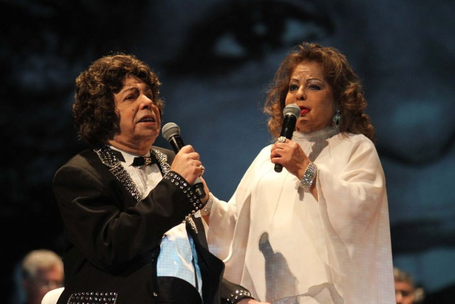 Cauby Peixoto e Angela Maria cantavam juntos e estavam em turnê pelo Brasil (Foto: Divulgação)