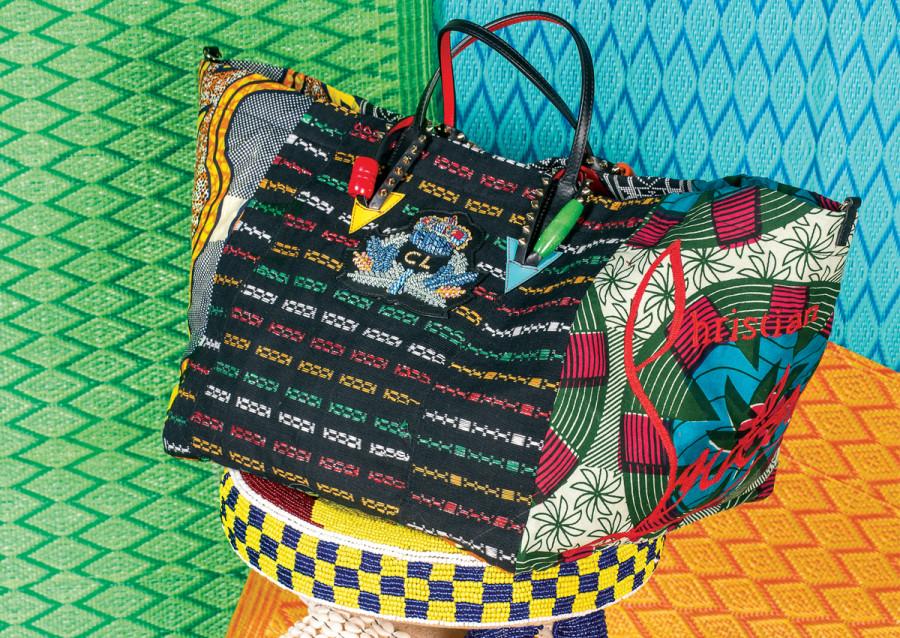 A bolsa foi criada em parceria com a ONG africana La Maison (Foto: Divulgação)